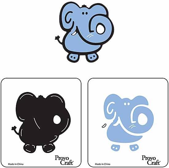 Cuttlekids 2-er Set Elefant / elephant 62-0011