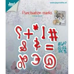 Joycrafts Stanz- u. Prägeform Zeichen / Punctuation Marks 6002/0502