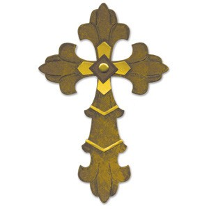 Sizzix Stanzform BIGZ Kreuz Ornate # 3 / cross ornate # 3 655641