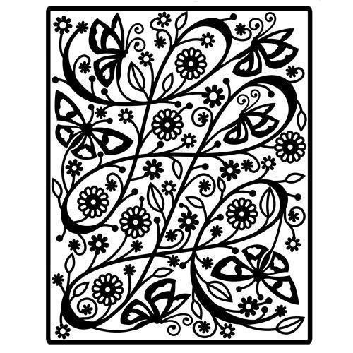 Spellbinders Impressabilities Schmetterling / butterfly I2-1002