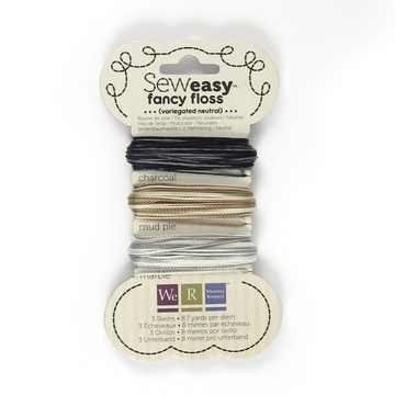 We R Memory Keppers SEW EASY Faden-Sortiment VARIEGATED NEUTRALS 71157-5
