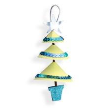 Sizzix Stanzform BIGZ Weihnachtsbaum hängend 3-D / Tree Christmas Hanging 3-D 655163