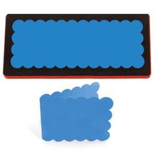 Allstar BIGZ XL Stanzform Karte gewellt / card scallop A 10771