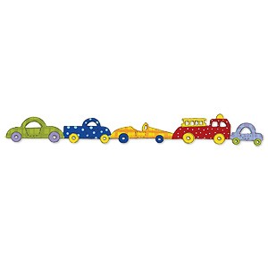 Sizzix Stanzform Sizzlits Border Baby Autos / baby cars 655490