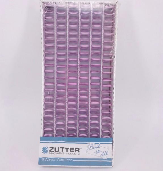 """Zutter BINDITALL Drahtbinderinge ROSA 3/4 """" = 1,9 cm ( 6 Stück ) 2768"""