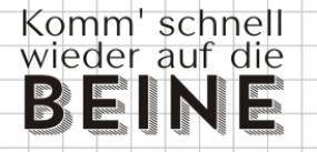 """AEH Design Stempelgummi """" Komm"""