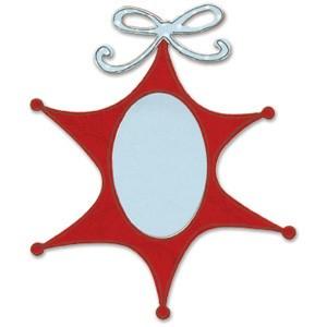 Sizzix Stanzform BIGZ Ornament Stern / ornament star 655544