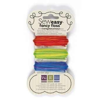 Sew Easy Faden-Sortiment VARIEGATED PRIMARY 71154-4