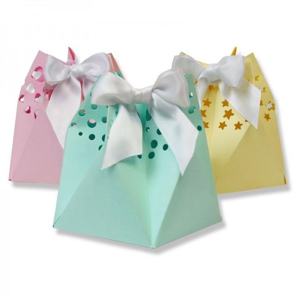 Sizzix Thinlits PLUS Stanzform Sternen-Geschenktasche/Star Gift Bag 662583 (auch BIg Shot geeignet)6