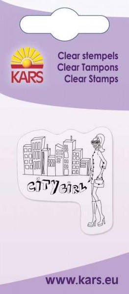 Clear Stempel City Girl 180009/2044