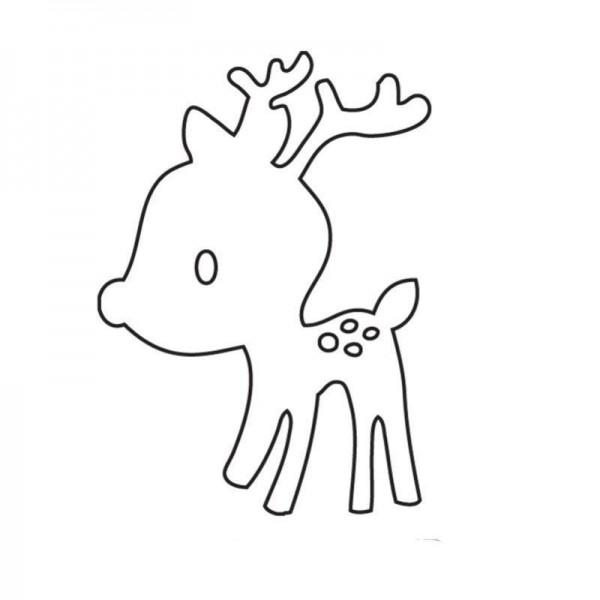 Savvystamps Stanzform Rentier-Baby / Reindeer 10051