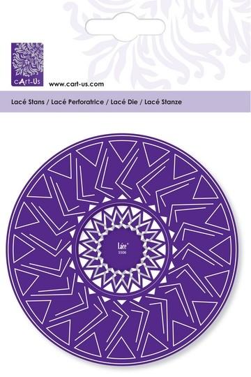Cart-Us Lacé Stanz-u. Prägeschablone Rozet circle 001856/5506
