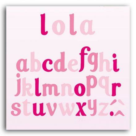 Toga Stanzform-Set Alphabet Lola DCZ01