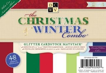 DCVW Papierblock The Christmas Winter Combo 16,5 x 11,4 cm CP-002-00781