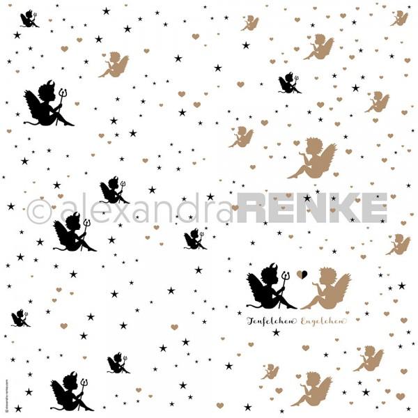 Alexandra Renke Designpapier ' Teufelchen & Engelchen ' 10.416