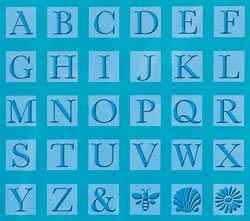 Cuttlebug All-in-One Alphabet MONOGRAM SERIF 2000290