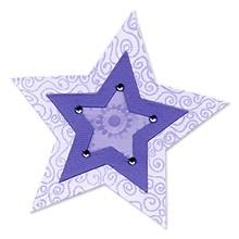 Sizzix Stanzform BIGZ Stern nested / star nested 655160 / 59-323-000