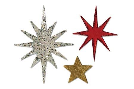 Sizzix Stanzform BIGZ Sterne / star & starbursts 656737
