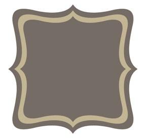 Go Kreate StanzformRahmen / Hintergrund quadratisch Pointy # 1 160001