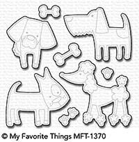 Dienamics Stanzformen Hunde / Dog-gone Awesome MFT-1370
