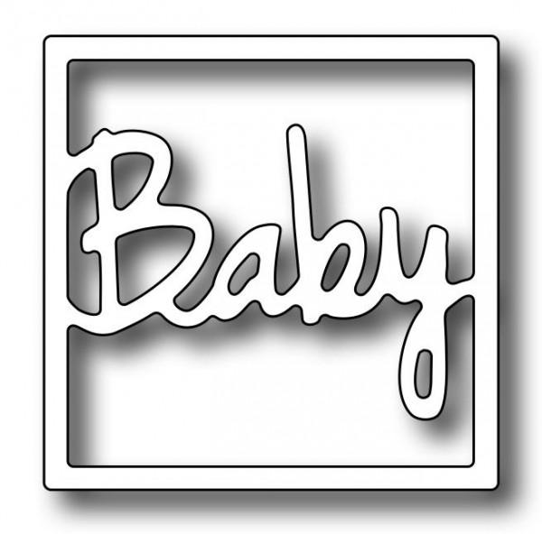 Frantic Stamper Stanzform Baby / Square Vignette Baby Insert FRA-DIE-09694