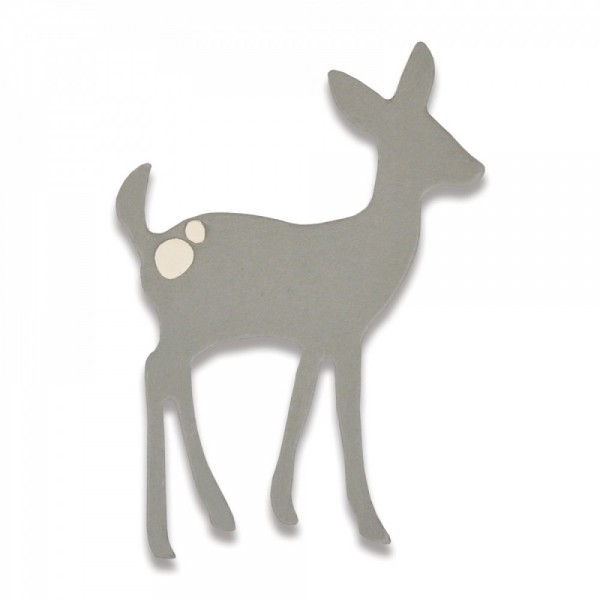 Sizzix Thinlits Stanzform Rehkitz / Cute Deer 661786