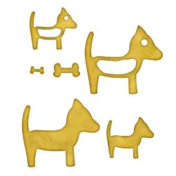 Spellbinders Embellishments Blank Dogs One MB6-005