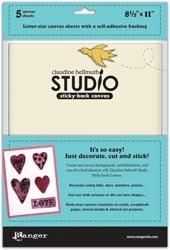 "Canvas Studio Sticky-Back 8,5 "" x 11 "" WEISS HSA24897"