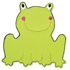Sizzix Stanzform BIGZ Frosch / frog 655440
