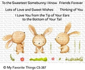 My Favorite Things Clearstempel Hasen / Sweetest Somebunny CS-387