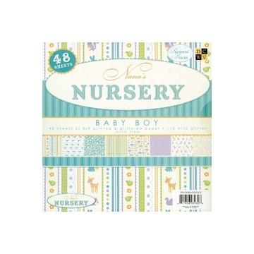 Papierblock Nursery BOY 20,3 x 20,3 cm PS-006-00022