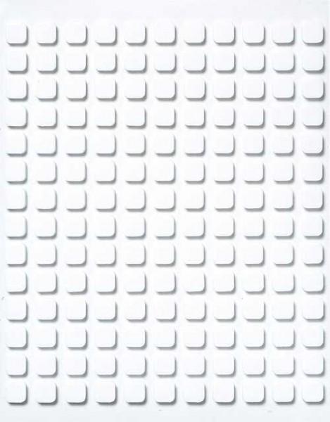 3 - D Klebeplättchen 6,5 mm x 6,5 mm x 2 mm 33-910-00