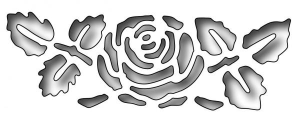 Frantic Stamper Stanzform Rose / Reverse Cut Rose FRA-DIE-09742