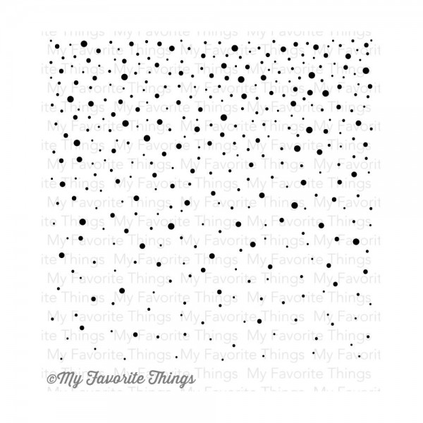 My Favorite Things Cling Stamp Snowflake Background BG-26