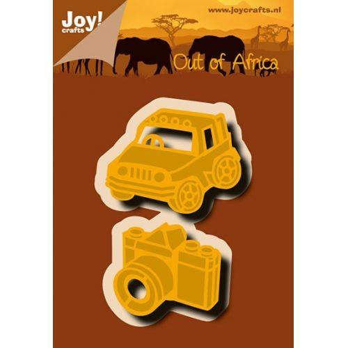 Joycrafts Stanz-u. Prägeform Jeep u. Kamera 6002/0637