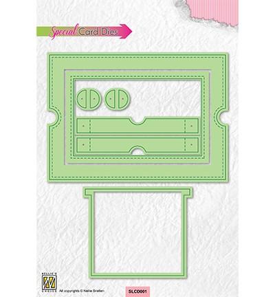 Nellie Stanzform Sliding Card SLCD001