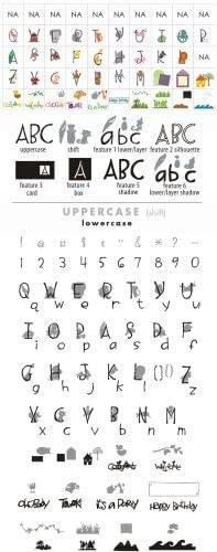 Cricut Cartridge ZOOBALLOO Alphabet 29-0225
