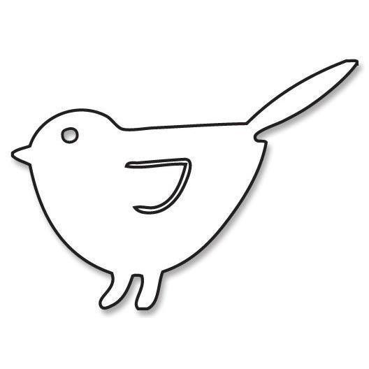 Savvystamps Stanzform Vogel / Winged Bird 10101