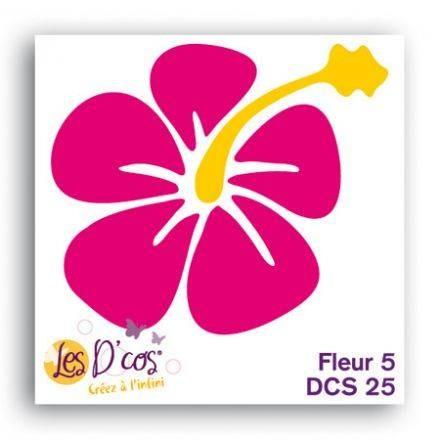 Toga Stanzform Blume 5 / fleur 5 DCS25