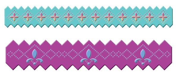 Spellbinders Stanzform Border Pinking Pierceabilities S4-165