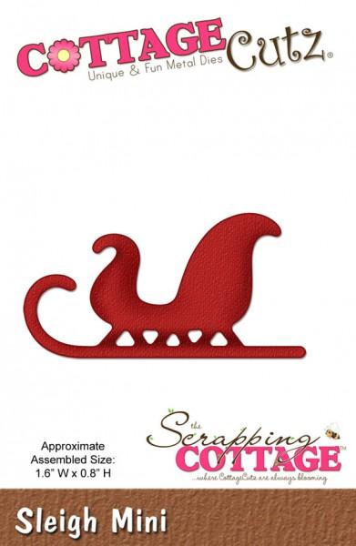 CottageCutz Schlitten mini / sleigh mini SC CC-Mini-093