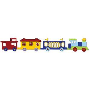 Sizzix Stanzform Sizzlits Borderr Zug / baby train 655504