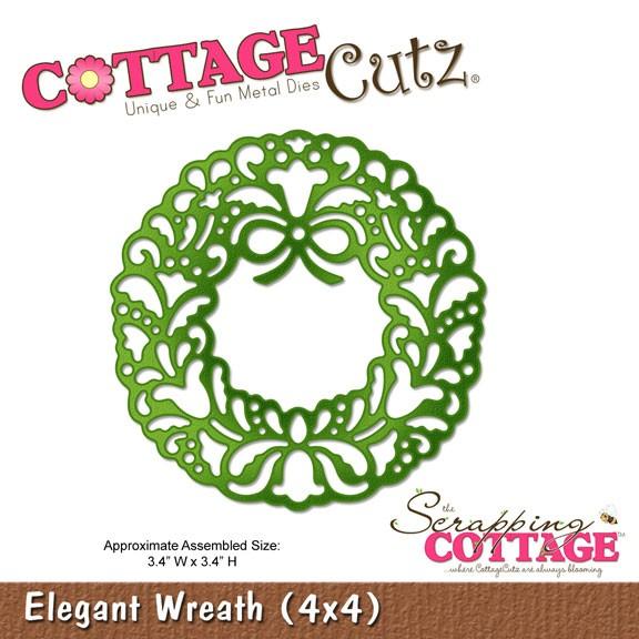 Eleganter Kranz / elegant wreath SC-CC4x4-287