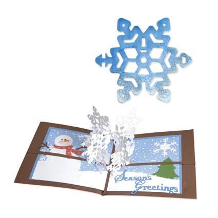 Sizzix Stanzform BIGZ Schneeflocke 3 - D / snowflake 3 - D 656271
