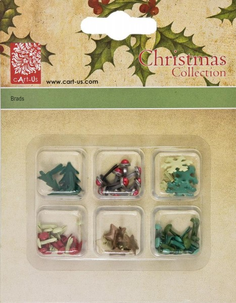 cArt-Us Xmas Brads Weihnachtsmotive 001849/0181