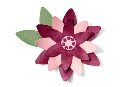 Sizzix Stanzform BIGZ Blumen-Lagen # 6 / flower layers # 6 657051