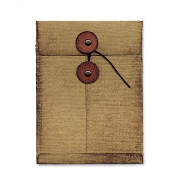 Sizzix BIGZ L Stanzform Movers & Shapers Umschlag 7,5 x 10 cm /Pocket Envelope 657843 / 57-186-000