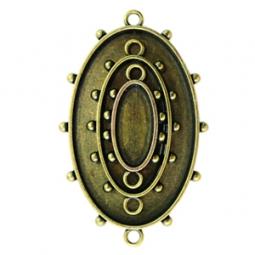 Spellbinders Schmuckanhänger BRONZE Ovals One MB1-001 (3 Stück )