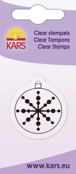 Clear Stempel Weihnachtskugel rund 180009/2038