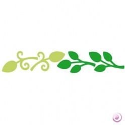Happycut Stanzform 4,5 cm x 22,2 cm Blätter # 4/Leaf # 4 1802600